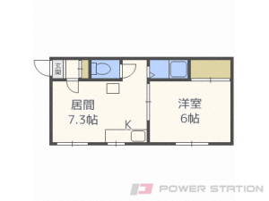 札幌市中央区大通東8丁目1賃貸アパート間取図面