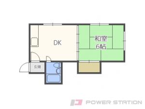 札幌市中央区北1条東12丁目0分譲リースマンション間取図面