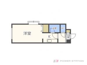 札幌市中央区宮の森4条10丁目0賃貸マンション間取図面