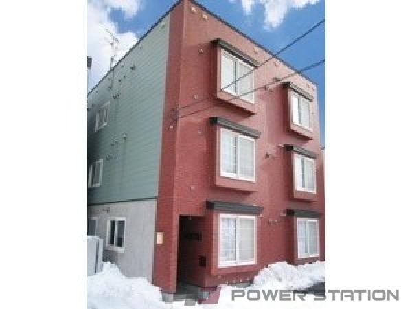 札幌市中央区宮の森3条10丁目0賃貸アパート外観写真