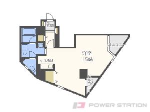 札幌市中央区宮の森2条5丁目0賃貸マンション間取図面