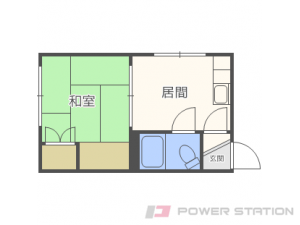 札幌市中央区南9条西9丁目0賃貸マンション間取図面