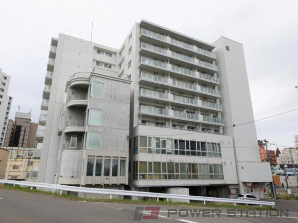 札幌市中央区南6条東3丁目1賃貸マンション外観写真