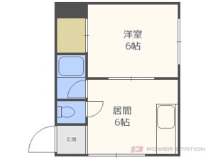 札幌市中央区宮の森2条9丁目0賃貸マンション間取図面