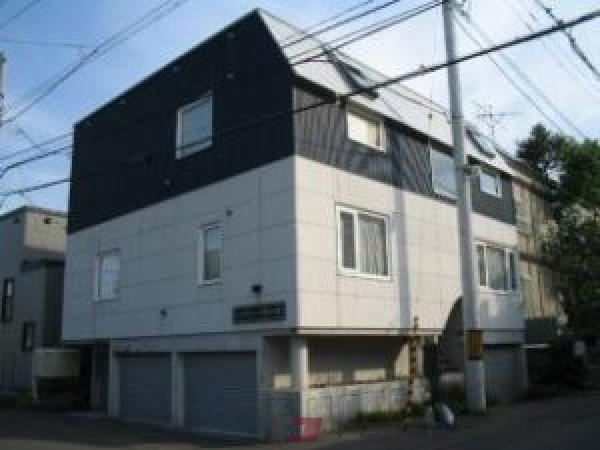 札幌市中央区宮の森1条10丁目0賃貸アパート外観写真
