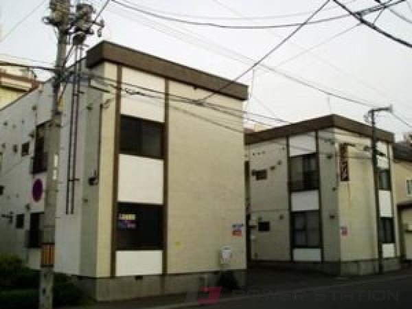 札幌市中央区北5条西29丁目0賃貸アパート外観写真