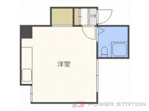 札幌市中央区北5条西29丁目0賃貸アパート間取図面