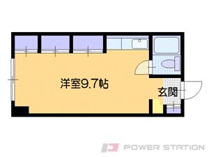 札幌市中央区北4条西28丁目0分譲リースマンション間取図面