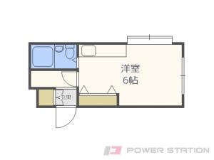札幌市中央区北3条西30丁目1賃貸マンション間取図面