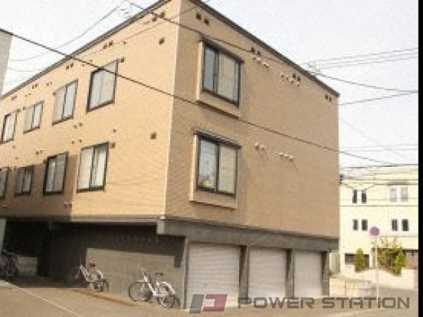 札幌市中央区北2条西28丁目0賃貸アパート外観写真