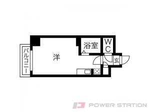 札幌市中央区北4条西25丁目0賃貸マンション間取図面