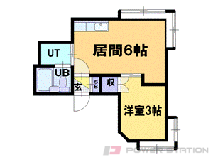 札幌市中央区北4条西25丁目0賃貸アパート間取図面