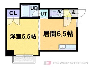 札幌市中央区北4条西26丁目0賃貸マンション間取図面
