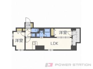 札幌市中央区南4条東3丁目1賃貸マンション間取図面