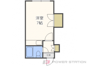 札幌市中央区北2条西26丁目0賃貸マンション間取図面