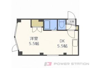 札幌市中央区北2条西27丁目0賃貸マンション間取図面