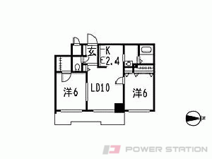 札幌市中央区北1条西28丁目0分譲リースマンション間取図面