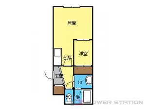 札幌市中央区北3条西23丁目0分譲リースマンション間取図面