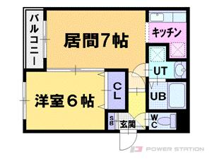 札幌市中央区北3条西23丁目0賃貸マンション間取図面