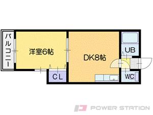 札幌市中央区北2条西20丁目0賃貸マンション間取図面
