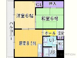 札幌市中央区北1条西19丁目0賃貸マンション間取図面