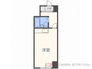 札幌市中央区北1条西19丁目0分譲リースマンション間取図面