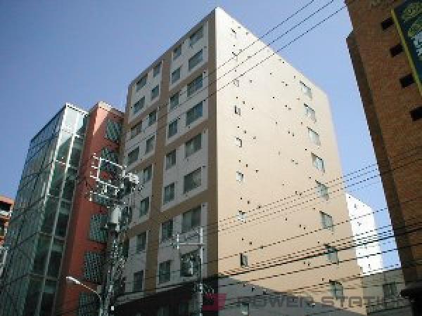 西11丁目1DKマンション外観