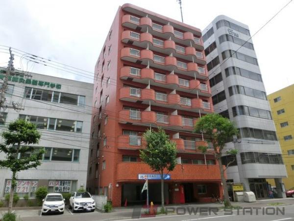 札幌市中央区南3条東4丁目0賃貸マンション外観写真