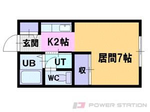 札幌市中央区南3条東6丁目1賃貸マンション間取図面