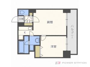 札幌市中央区南3条東2丁目1賃貸マンション間取図面