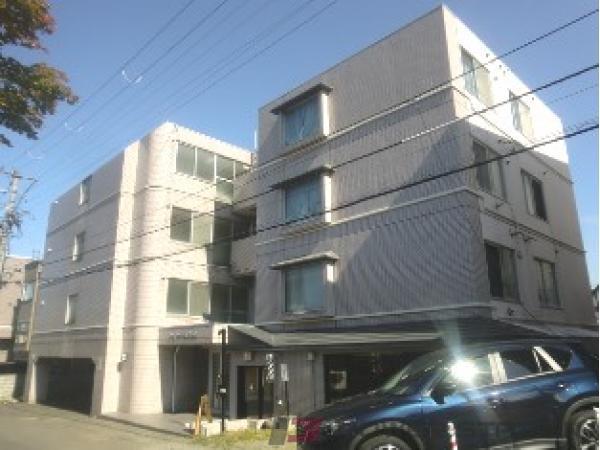札幌市中央区宮の森1条10丁目1賃貸マンション外観写真