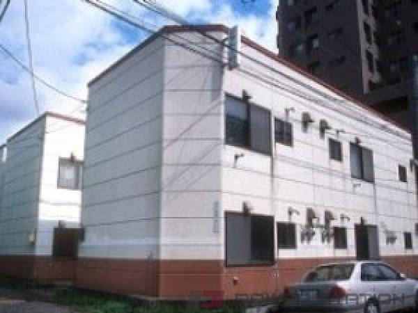 札幌市中央区北1条西27丁目0賃貸アパート外観写真