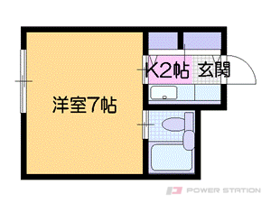 札幌市中央区北1条西26丁目0賃貸マンション間取図面
