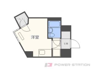 札幌市中央区大通西26丁目0分譲リースマンション間取図面