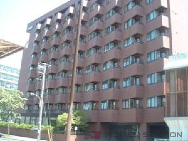円山公園1LDK分譲リースマンション外観