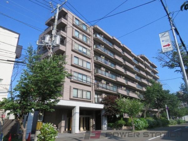 円山公園3LDK分譲リースマンション外観