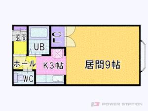 札幌市中央区南2条西27丁目0賃貸アパート間取図面