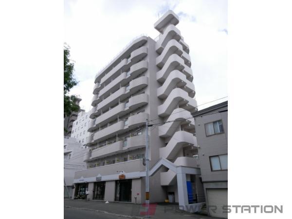 円山公園1Kマンション外観