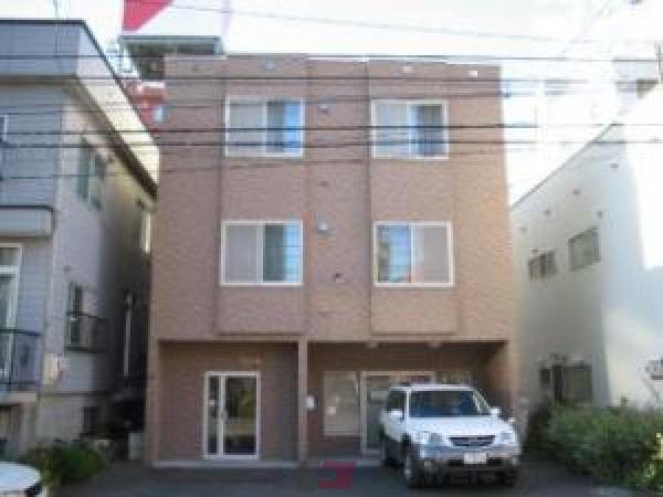 札幌市中央区北1条西22丁目0賃貸アパート外観写真