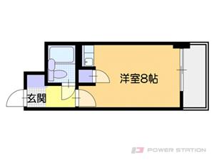 札幌市中央区大通西22丁目0分譲リースマンション間取図面