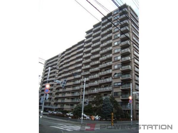 円山公園4LDK分譲リースマンション外観