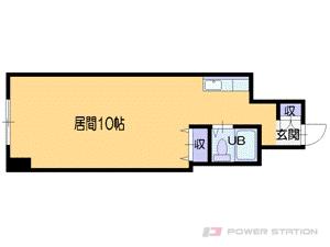 札幌市中央区南1条西23丁目0分譲リースマンション間取図面