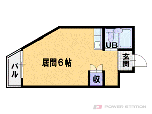 札幌市中央区南3条西23丁目0賃貸マンション間取図面
