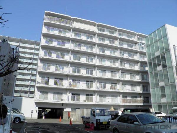 札幌市中央区大通西20丁目1分譲リースマンション外観写真