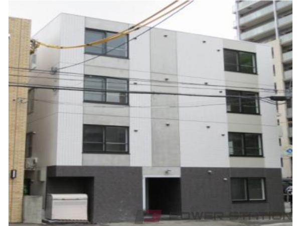 札幌市中央区北7条西13丁目0賃貸マンション外観写真