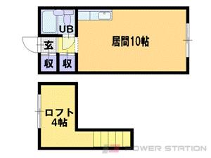 札幌市中央区南3条西20丁目0賃貸マンション間取図面
