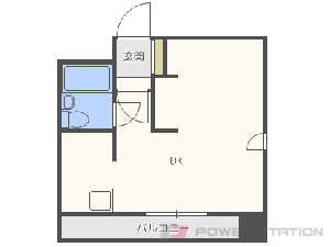 札幌市中央区大通西17丁目0賃貸マンション間取図面