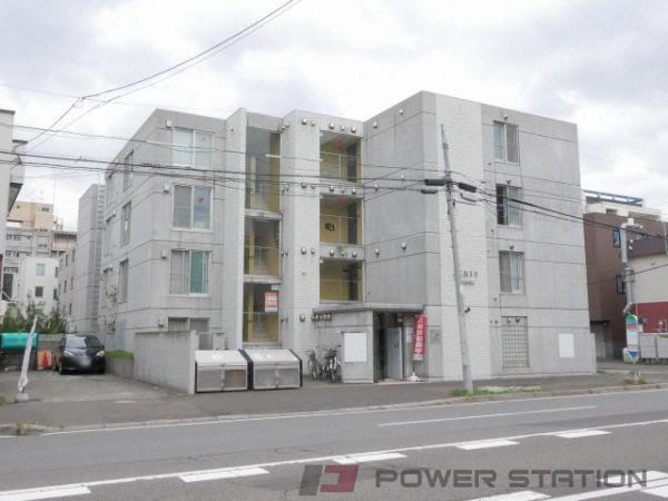 西18丁目1DK分譲リースマンション外観