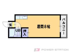 札幌市中央区南1条西13丁目0賃貸マンション間取図面