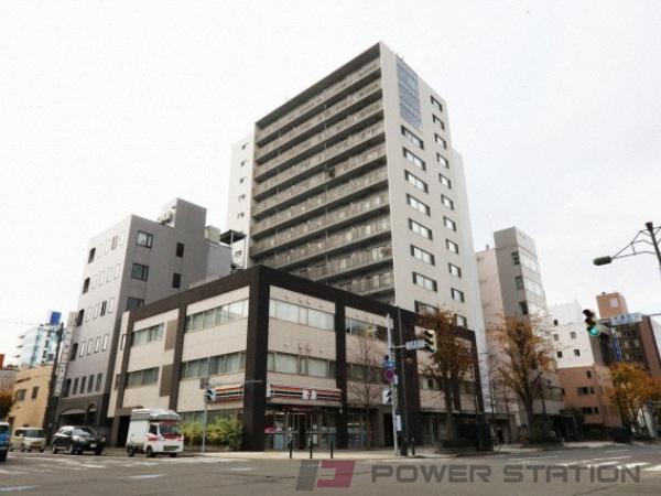 札幌市中央区大通西13丁目1賃貸マンション外観写真